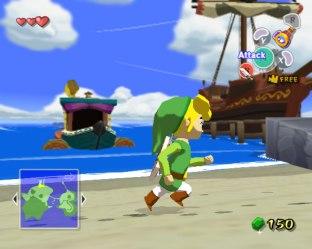 Zelda Windwaker Gamecube 12