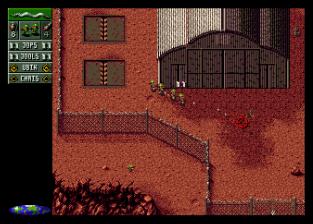 Cannon Fodder Amiga 64