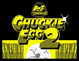 Chuckie Egg 2 ZX Spectrum 01