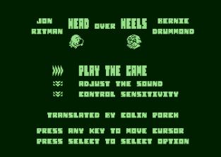 Head Over Heels Atari 800 01