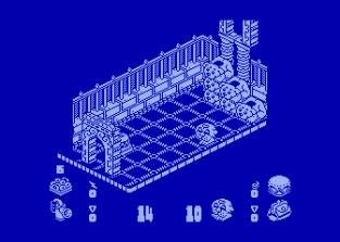 Head Over Heels Atari 800 45