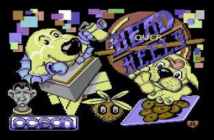 Head Over Heels C64 01