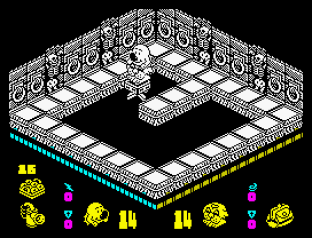 Head Over Heels ZX Spectrum 31