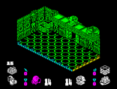 Head Over Heels ZX Spectrum 32