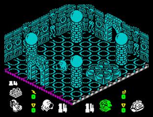 Head Over Heels ZX Spectrum 34
