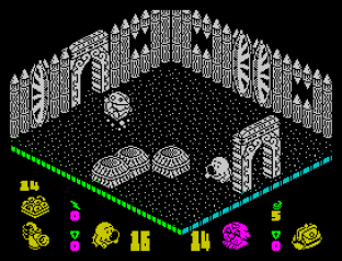 Head Over Heels ZX Spectrum 42