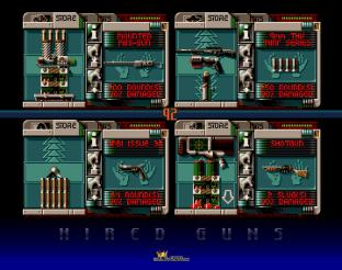 Hired Guns Amiga 12