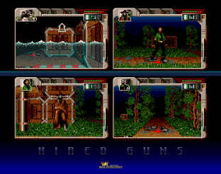 Hired Guns Amiga 34