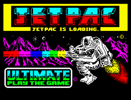Jet Pac ZX Spectrum 01