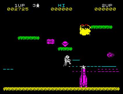Jet Pac ZX Spectrum 09