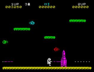 Jet Pac ZX Spectrum 10