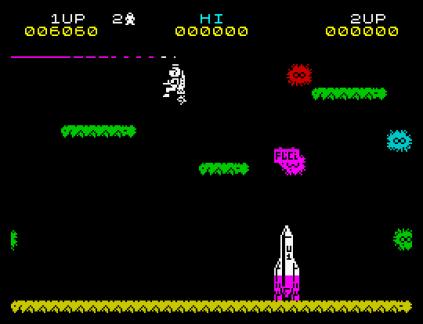 Jet Pac ZX Spectrum 12