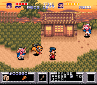 Legend of the Mystical Ninja SNES 12