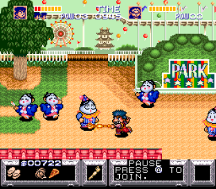 Legend of the Mystical Ninja SNES 23
