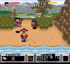 Legend of the Mystical Ninja SNES 38