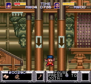 Legend of the Mystical Ninja SNES 44