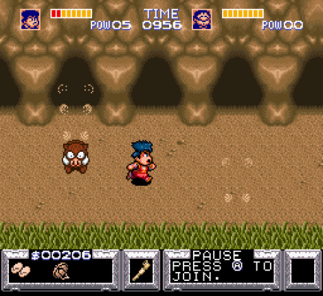 Legend of the Mystical Ninja SNES 48