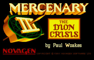Mercenary 3 Atari ST 01