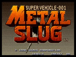 Metal Slug Neo Geo 01