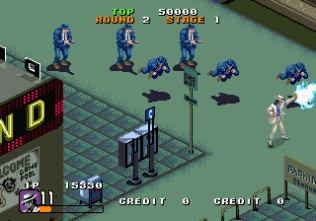 Michael Jackson's Moonwalker (1990) Arcade 11
