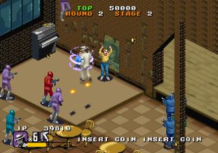 Michael Jackson's Moonwalker (1990) Arcade 21