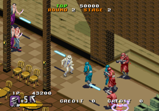 Michael Jackson's Moonwalker (1990) Arcade 23