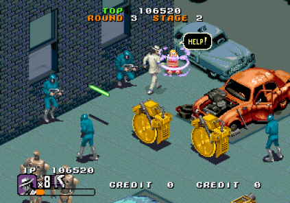 Michael Jackson's Moonwalker (1990) Arcade 42