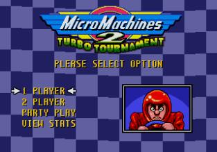 Micro Machines 2 Megadrive Genesis 01