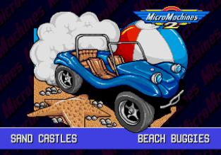 Micro Machines 2 Megadrive Genesis 09