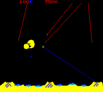 Missile Command Arcade 05