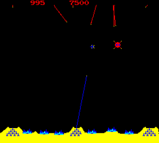 Missile Command Arcade 09