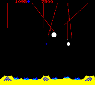 Missile Command Arcade 10