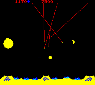 Missile Command Arcade 11