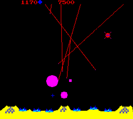 Missile Command Arcade 12