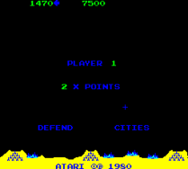 Missile Command Arcade 14