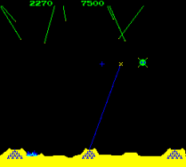 Missile Command Arcade 17