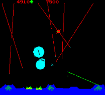 Missile Command Arcade 19