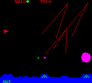Missile Command Arcade 20