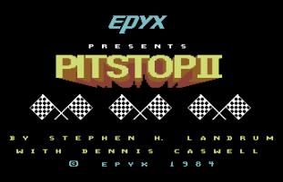 Pitstop 2 C64 01