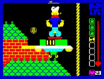 Popeye ZX Spectrum 09