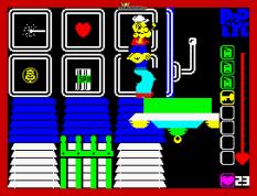 Popeye ZX Spectrum 10