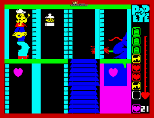 Popeye ZX Spectrum 12