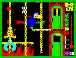 Popeye ZX Spectrum 22