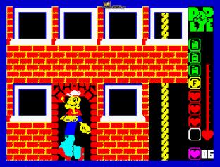 Popeye ZX Spectrum 23
