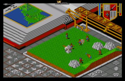 Populous (1989) Amiga 09