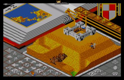 Populous (1989) Amiga 12