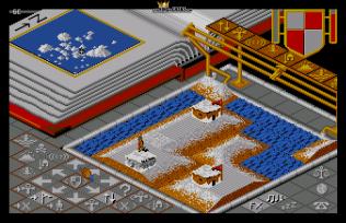 Populous (1989) Amiga 21