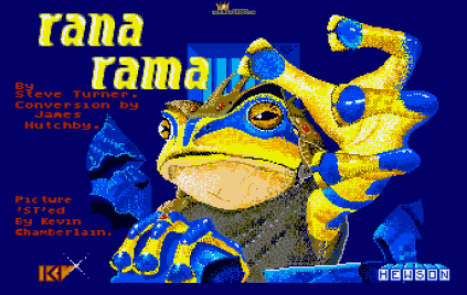 Ranarama Atari ST 01