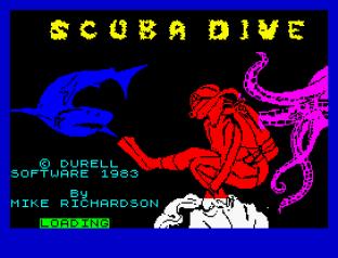 Scuba Dive ZX Spectrum 01