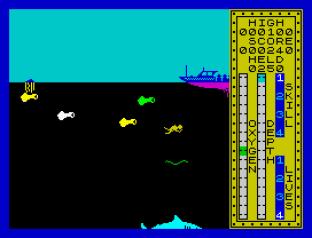 Scuba Dive ZX Spectrum 12